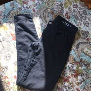Gap dark wash jeggings